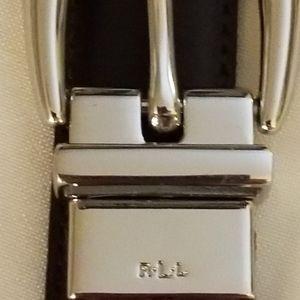 Ralph Lauren Belt Red Wine Color size Large